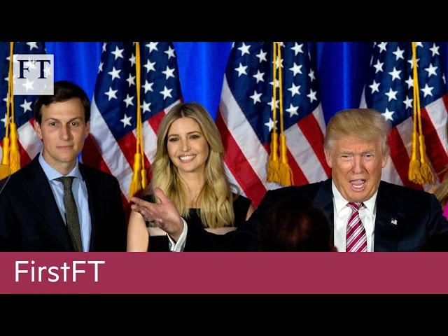 Trumps son-in-law, Snap opts for UK HQ | FirstFT HD