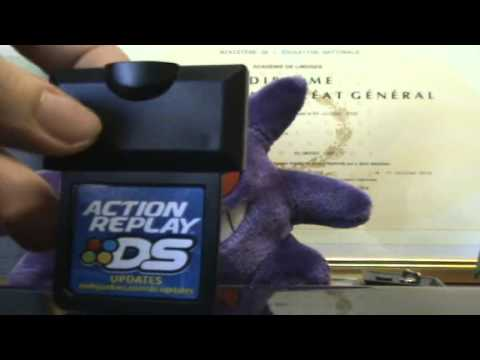 TUTO : installer et utiliser l'Action Replay avec Pokemon partie 1/3