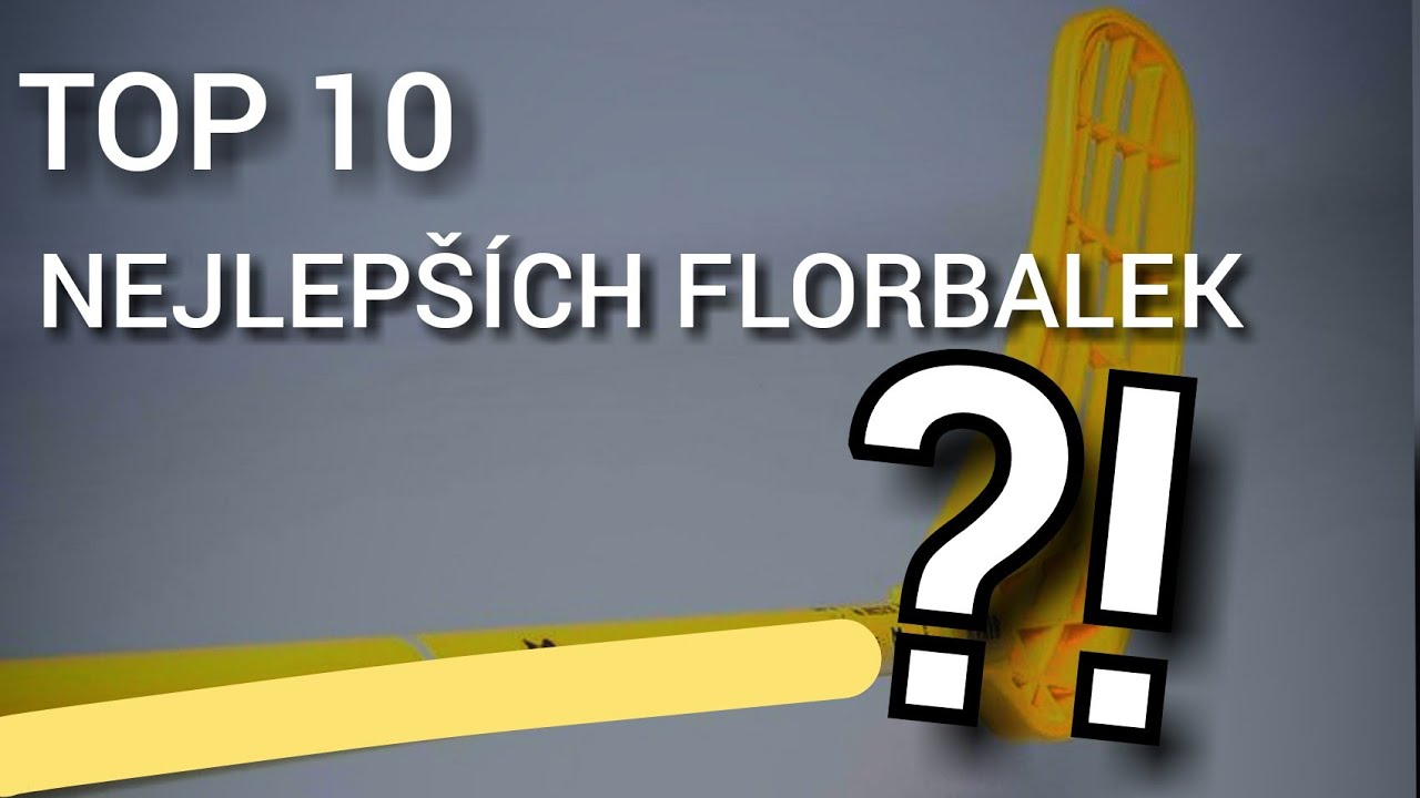 Download TOP 10 NEJLEPŠÍCH Florbalek / TOP 10 BEST Floorball Sticks
