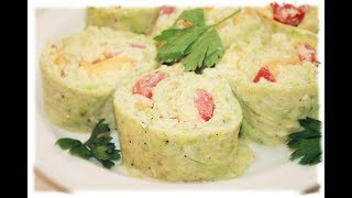 Кабачковый рулет / Zucchini Roll Recipe