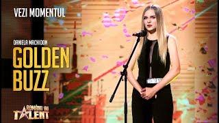 Gambar cover Vocea care vine din afara Universului   Daniela Machidon - Românii au Talent