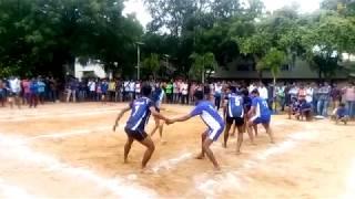 AURA - CBIT SPORTS FESTIVAL || KABADDI MATCH