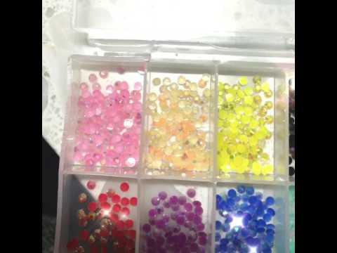 Jelly rhinestones
