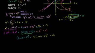 Окружность, гипербола и общая касательная (Часть 2)