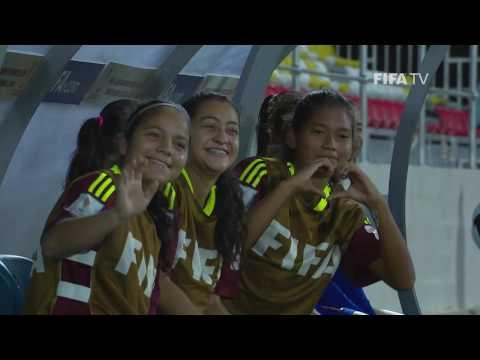 MATCH 24: VENEZUELA v MEXICO - FIFA Women's U20 Papua New Guinea 2016