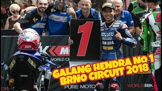 Video MEMBANGGAKAN!! GALANG HENDRA WSSP 300 DI BRNO CIRCUIT 2018 download MP3, 3GP, MP4, WEBM, AVI, FLV Juni 2018