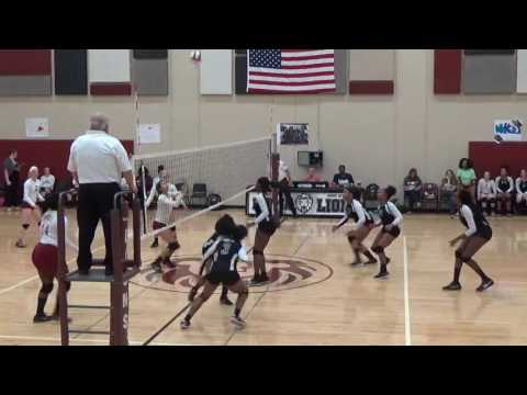 2016 Volleyball Danville vs Peoria High