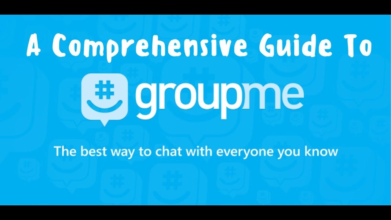 GroupMe Tutorial & Guide