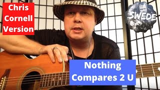 """Chris Cornell Version """"Nothing Compares 2 U - Guitar Lesson"""