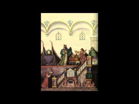 А.С.Пушкин Сказка о мёртвой царевне  и семи богатырях (отрывок), иллюстрации В.М.Конашевича