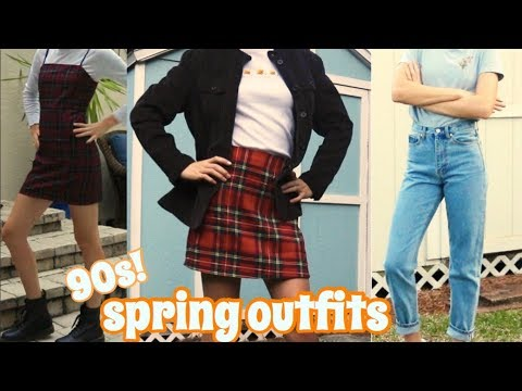spring outfit ideas | 90s + retro lookbook 8