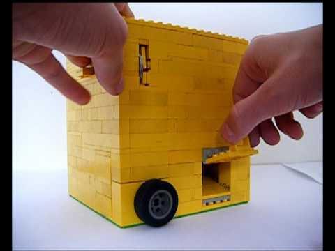 how to make lego gumball machine
