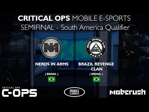CRITICAL OPS | SEMIFINAL (NiA vs BRC) - Nerds in Arms vs Brazil Revenge Clan