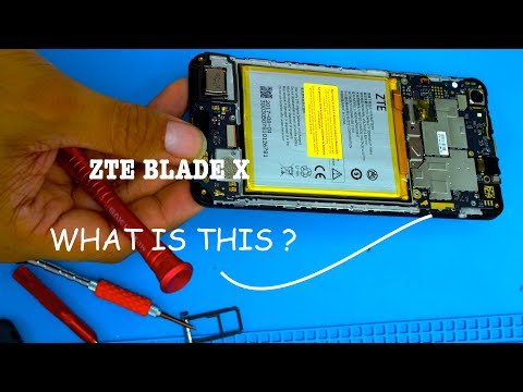 ZTE Blade X  Z965 - Screen LCD Glass - How To Repair - Charging Port