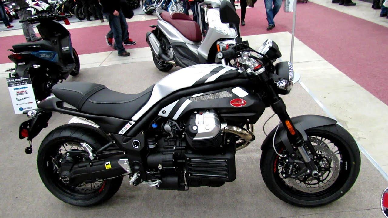 2013 moto guzzi griso 1200se - walkaround - 2013 quebec motorcycle