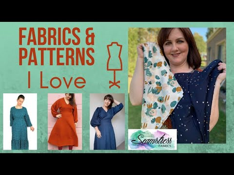 Fabrics And Patterns I Love #fabrichaul #patterns #dahliasewciety