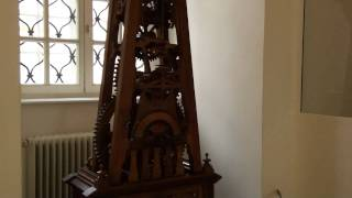 72 - Bob Cole Conservatory Choir Tour Europe 2010 - Melk Abbey Wooden Grandfather Clock