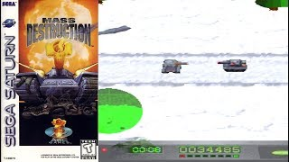 Mass Destruction ( Sega Saturn )