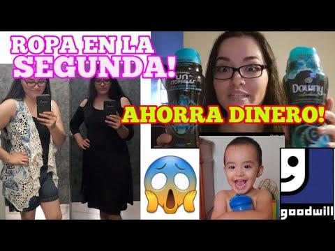 ROPA EN LA SEGUNDA...GOODWILL / COMO AHORRAR DINERO... 12 HUEVOS GRATIS!