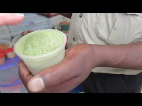 Maringa powder at Elim market Limpopo