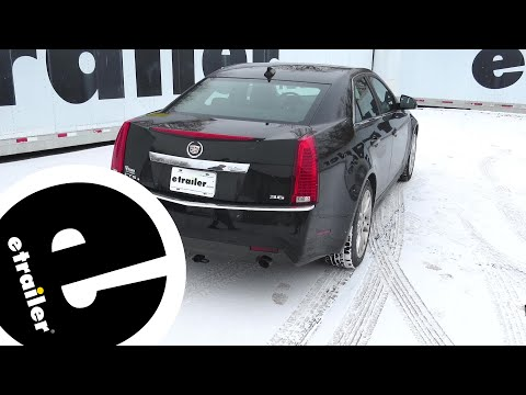 install trailer hitch 2012 cadillac cts 24767 - etrailer