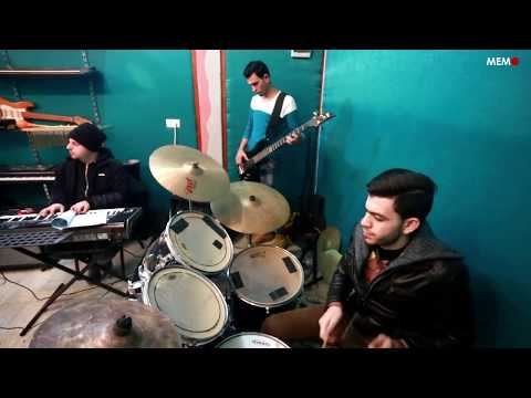 Music band Typo rocks Gaza - YouTube