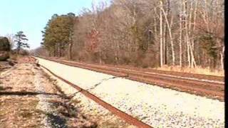 Amtrak 19 in Midfield, Al and CSX Bham to Cullman