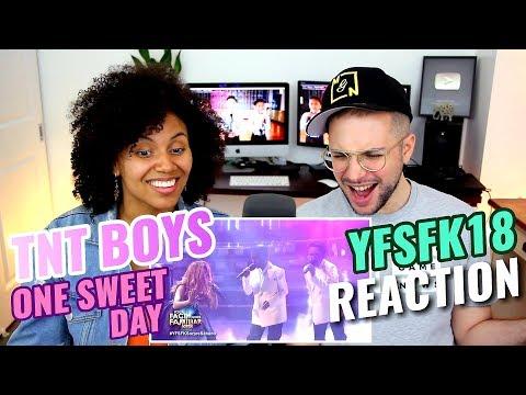 TNT Boys  One Sweet Day  Mariah Carey, Boyz II Men  Your Face Sounds Familiar Kids 18  REACTION