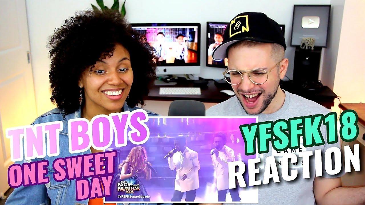 TNT Boys - One Sweet Day | Mariah Carey, Boyz II Men | Your Face Sounds Familiar Kids 18 | REACTION