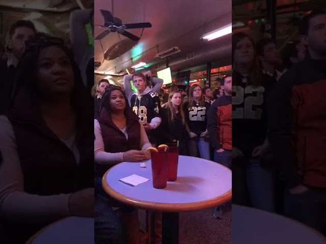 Saints bar reaction to Vikings Playoff Game