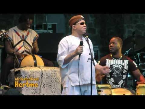 A Demain LIVE by Salif Keita  African Music Festival Hertme 2013