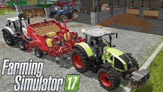 SEMINIAMO PATATE w/AlexFarmer #215 - FARMING SIMULATOR 17 GAMEPLAY ITA