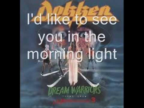 Dokken alone again lyrics