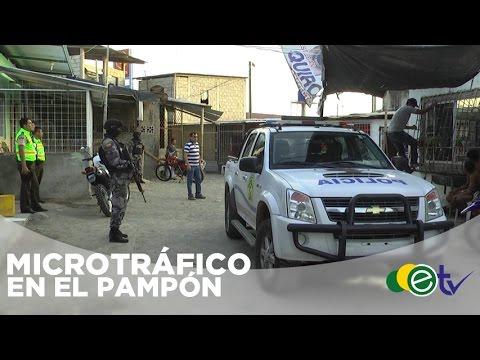 MICROTRAFICANTES DEL PAMPÓN DE PUERTO BOLÍVAR EN LA MIRA DE ANTINARCÓTICOS DE EL ORO.