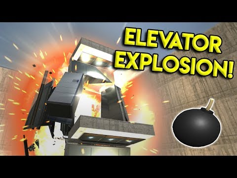 EPIC ELEVATOR EXPLOSIONS & MORE! - Disassembly 3D Gameplay - EP 6