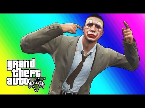 Thumbnail: GTA 5 Online Funny Moments - Clown Salesman Rage!