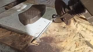 Řezání kamenických rohů- dlažba 20mm