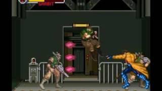 Xmen Mutant Apocalypse (SNES) Gambit Stage