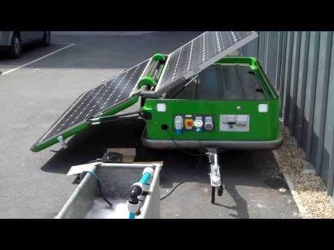 The Solarator.. Solar powered generator