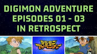 Gambar cover Episode 01 - 03 | DIGIMON ADVENTURE In Retrospect