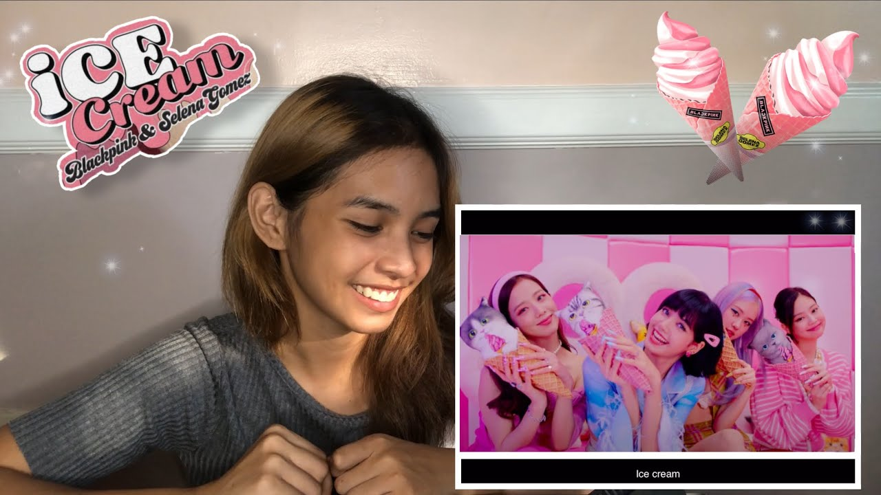 ICECREAM REACTION (BLACKPINK FT. SELENA GOMEZ) | Lienel Navidad