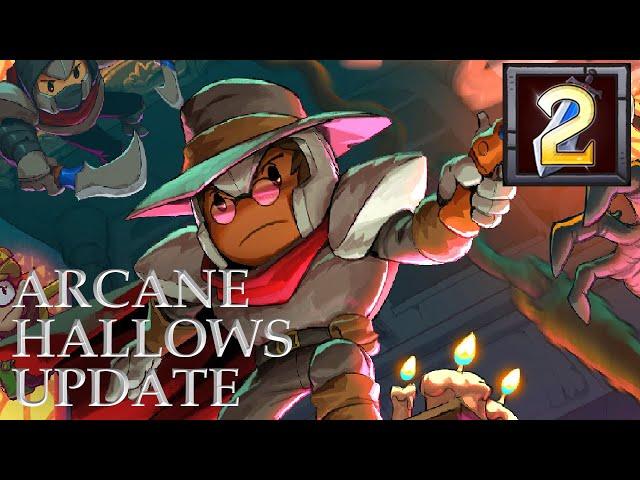 Rogue Legacy 2 Arcane Hallows Update - Exploring the Stygian Study