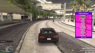 GTA V PC - ENDEAVOUR 1.7 MOD MENU GAMEPLAY [+ONLINE OPTIONS]