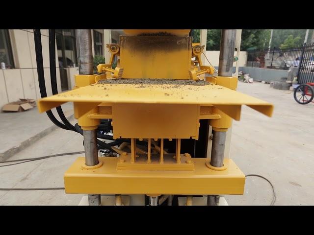 QT1-10 clay block making machine