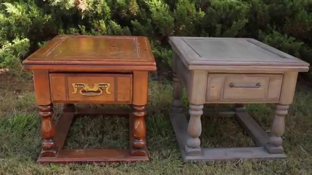 Create A Distressed Wood Finish With Varathane Ultimate Wood Stain Youtube