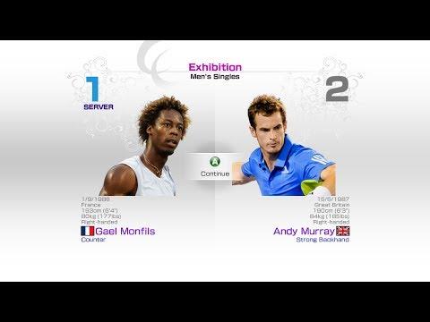 virtua-tennis-4-sega-gael-monfils-vs-andy-murray-rafael-nadal-roger-federer-andy-murray