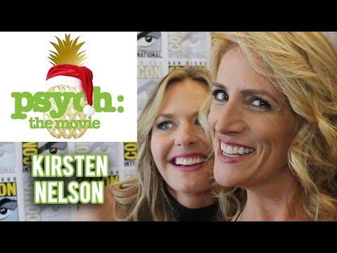 Psych: The Movie - Kirsten Nelson Interview