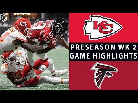 Chiefs Vs. Falcons Highlights | NFL 2018 Preseason Week 2