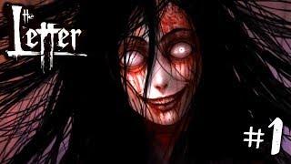 ИНДИ-ХОРРОР ИГРА ► The Letter - Horror Visual Novel #1 ► Прохождение на русском