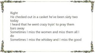 Lee Hazlewood - Pray Them Bars Away Lyrics